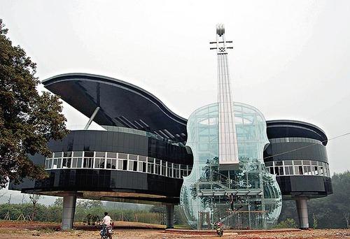 Muzikiniai Instrumentai architektūroje